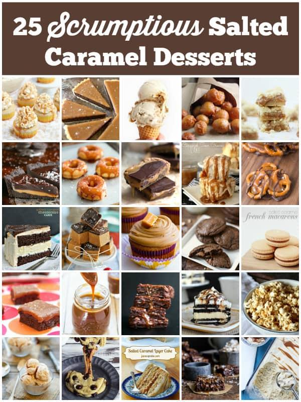 25 Scrumptious Salted Caramel Desserts