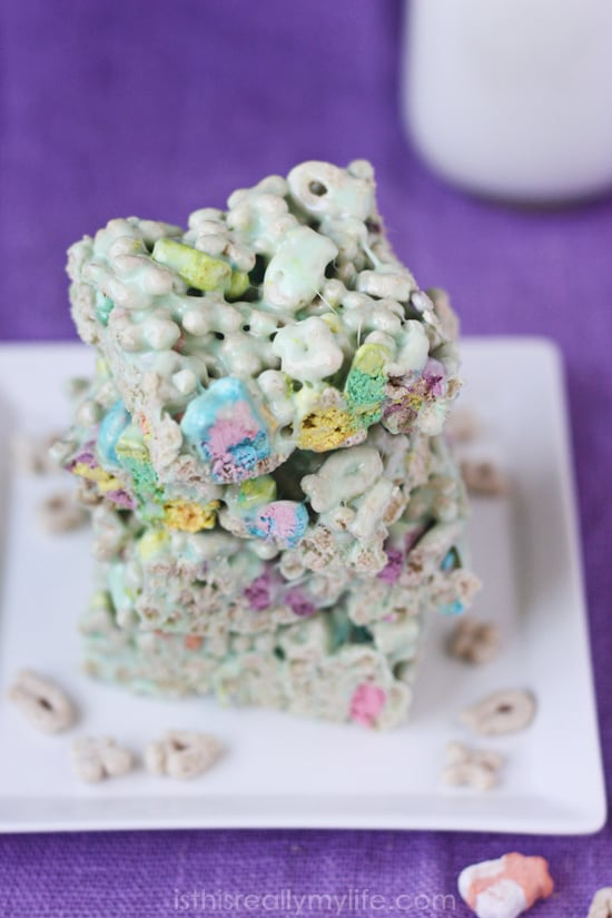 Lucky Charms Treats -- quick and easy and delightfully delicious!
