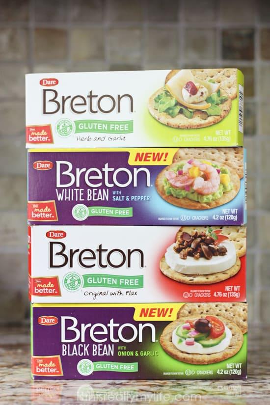 Breton Gluten Free Crackers