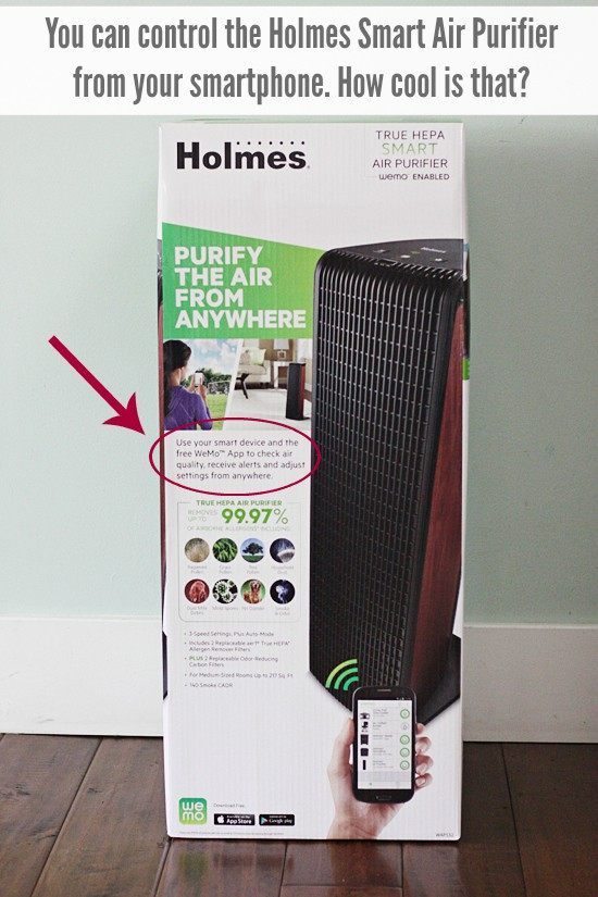 Holmes Smart Air Purifier with WeMo App