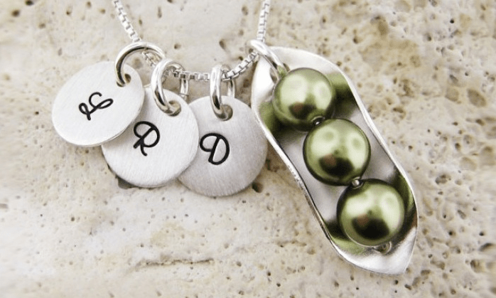 Peas in a Pod Necklace   JC Jewelry Design   Groupon
