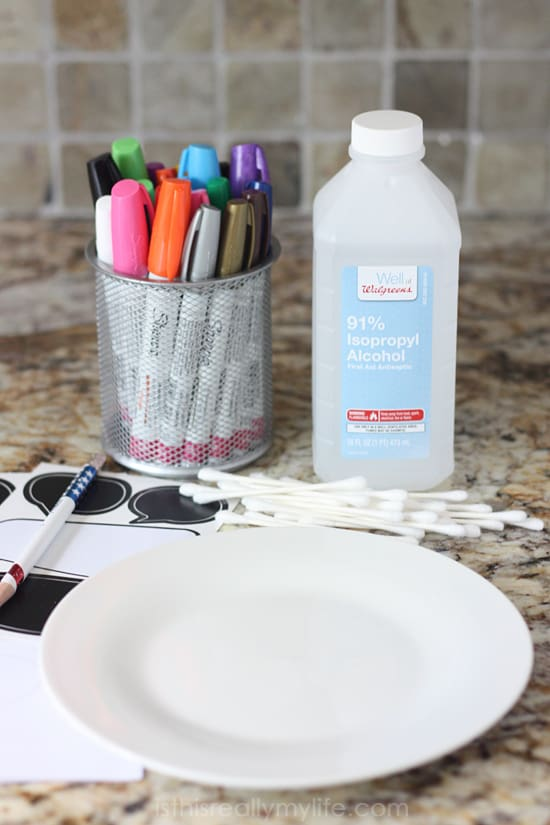 DIY Sharpie Mugs and Plates