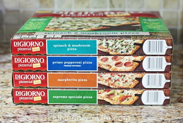 DiGiorno Pizzeria Thin -- love this new thin-crust pizza!