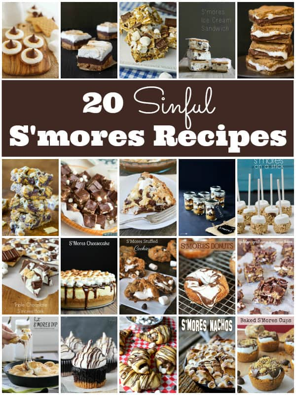 20 Sinful Smores Recipes