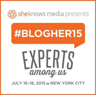 BlogHer 2015 Experts Among Us #BlogHer15