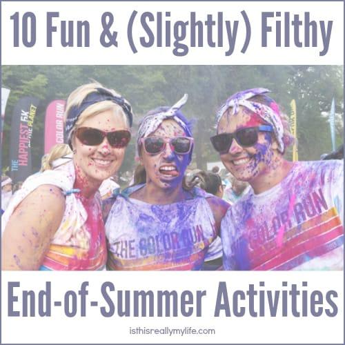 10 Fun End of Summer Activities