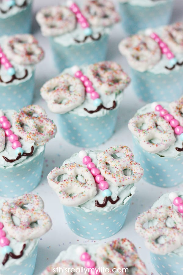 Butterfly Cupcakes - unbelievably easy to make and so much fun to eat!