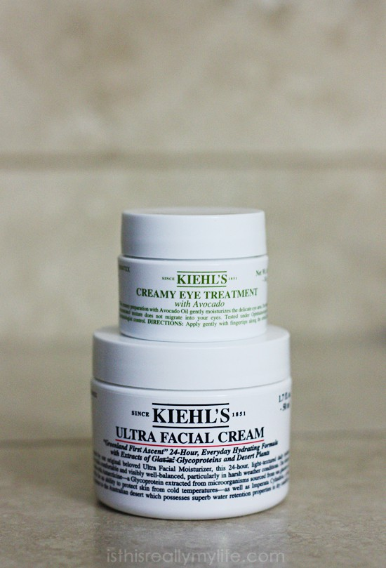 Kiehls eye treatment facial cream