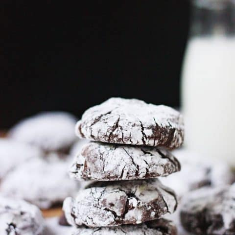 Brownie Cookies - decadent, chocolaty and super chewy. To die for!