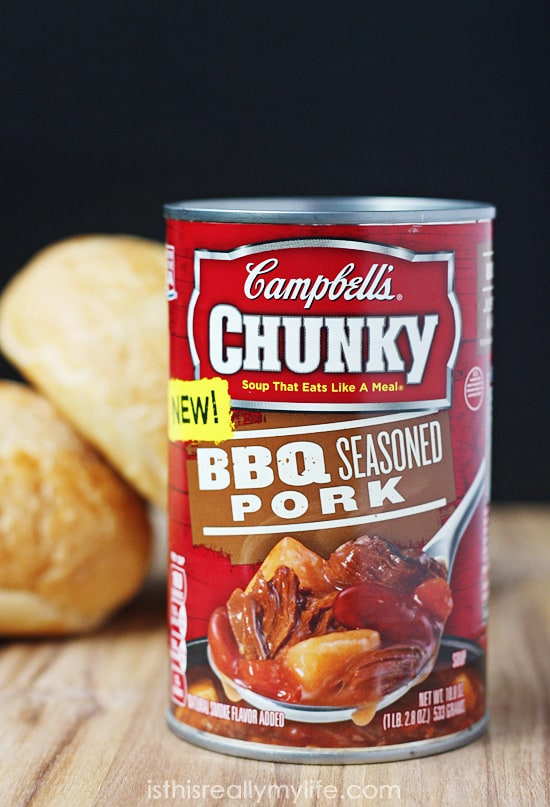 Campbells Chunky soup - BBQ Seasoned Pork