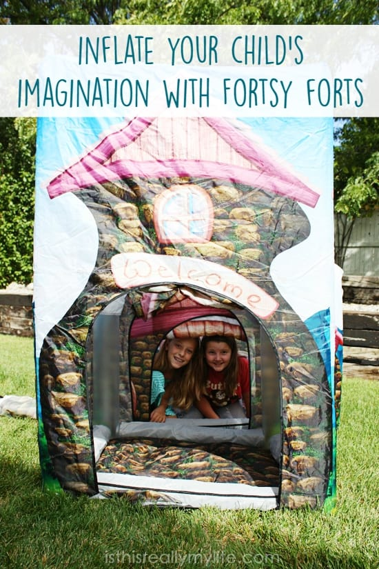 Fortsy - durable inflatable forts perfect for hours of creative play