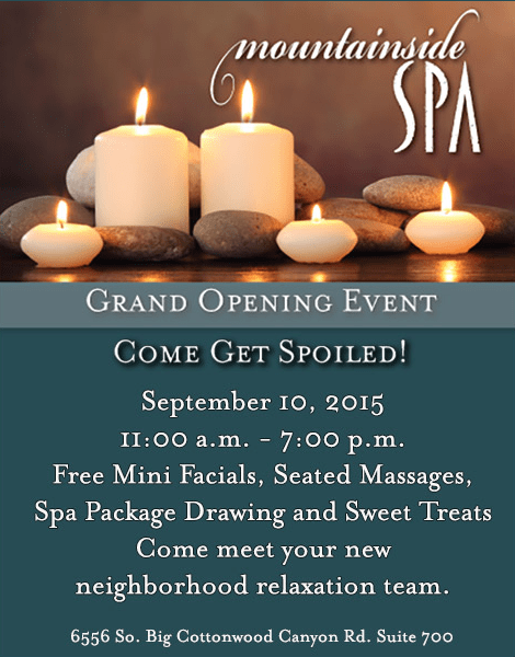 Welcome to Mountainside Spa