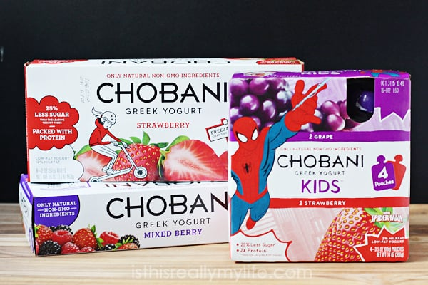 Chobani Kids Greek Yogurt