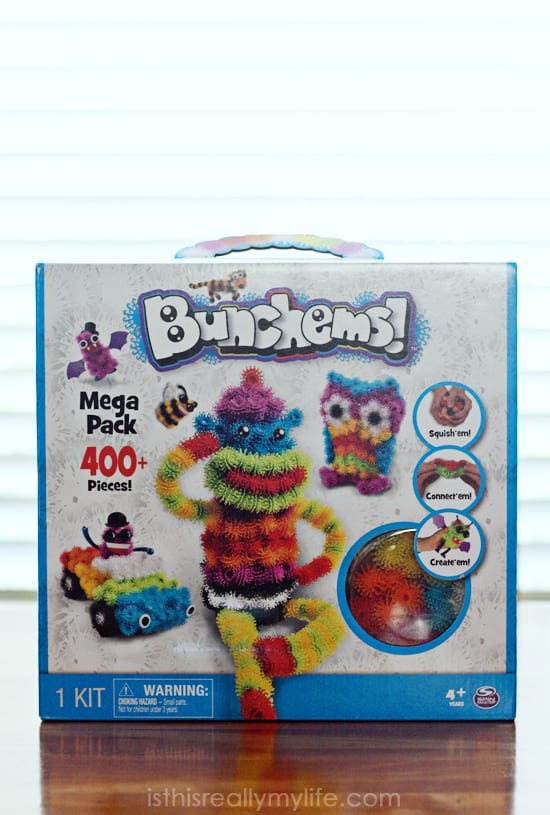 Bunchems review -- squish, connect and create. Love how easy it is to build and clean up!