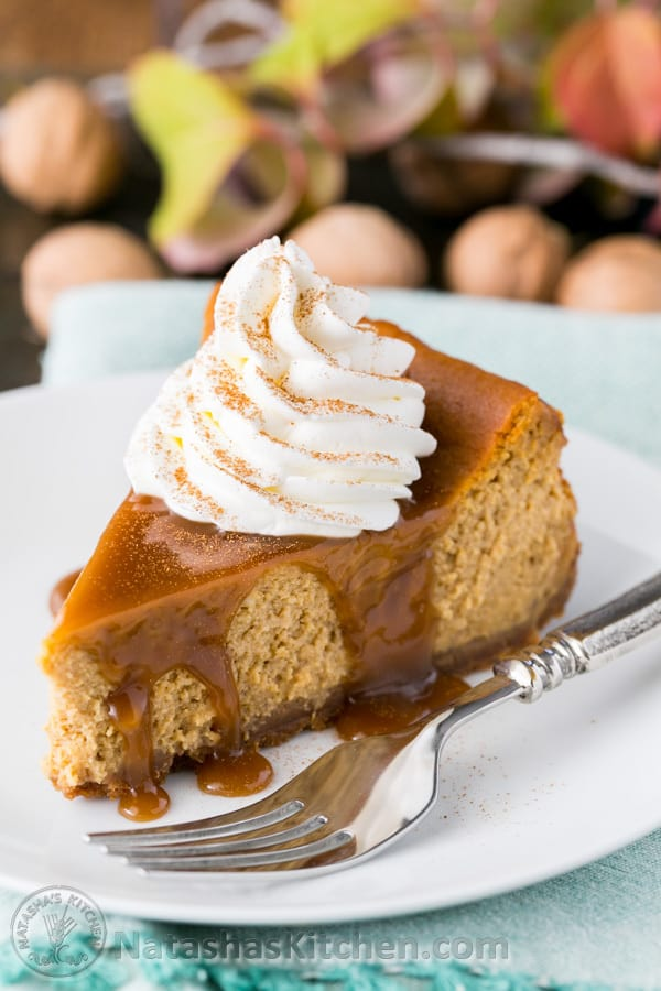 Pumpkin Cheesecake - Pumpkin Pie Desserts