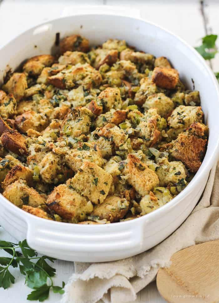 Traditional Homemade Stuffing Recipe
