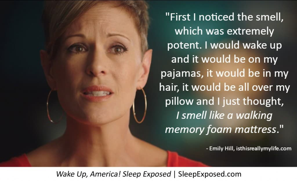 Wake Up, America - Sleep Exposed -- a documentary shedding light on a health crisis related to poor sleep . . . and your mattress.