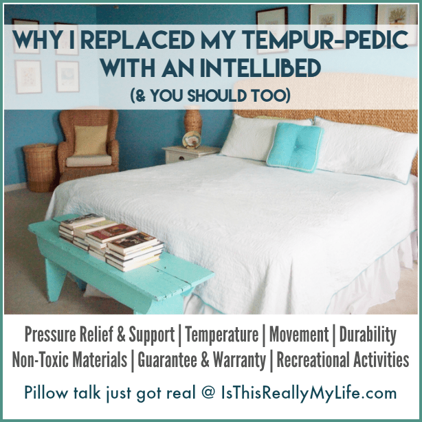 Why I Replaced My Tempurpedic with an intelliBED -- 7 reasons you should do the same