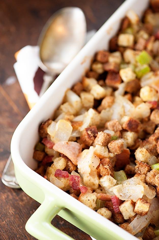 Bacon stuffing recipe