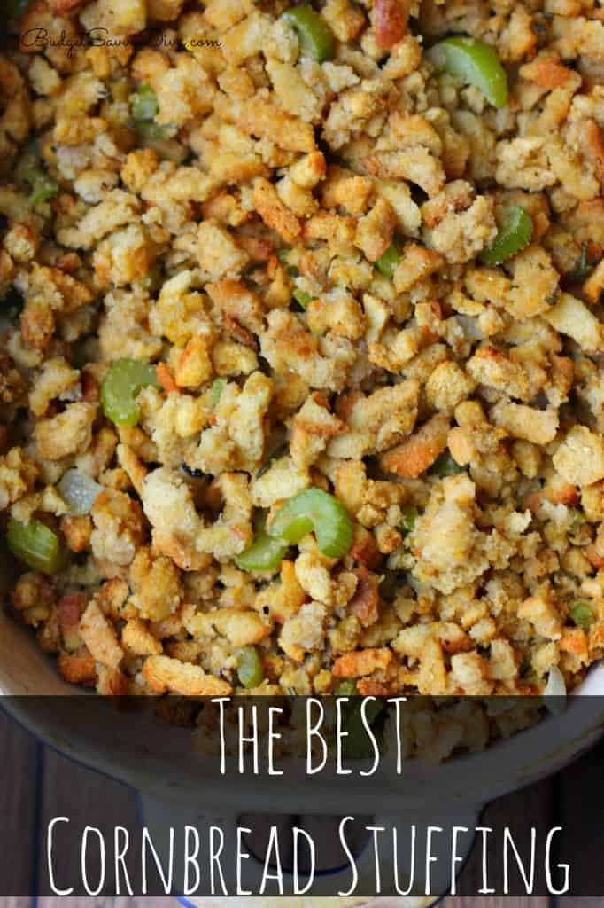The best cornbread stuffing recipe