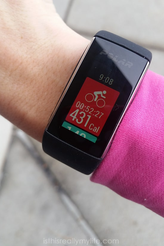 Polar A360 review -- Polar fitness tracker with wrist-based heart rate monitor that tracks activity and syncs with Flow mobile app.
