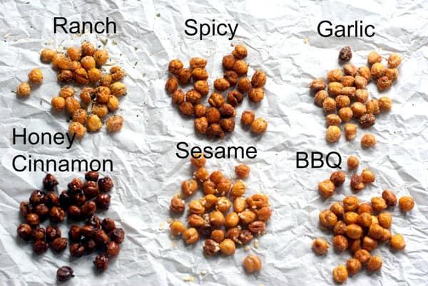 Made fom Pinterest - roasted chickpeas