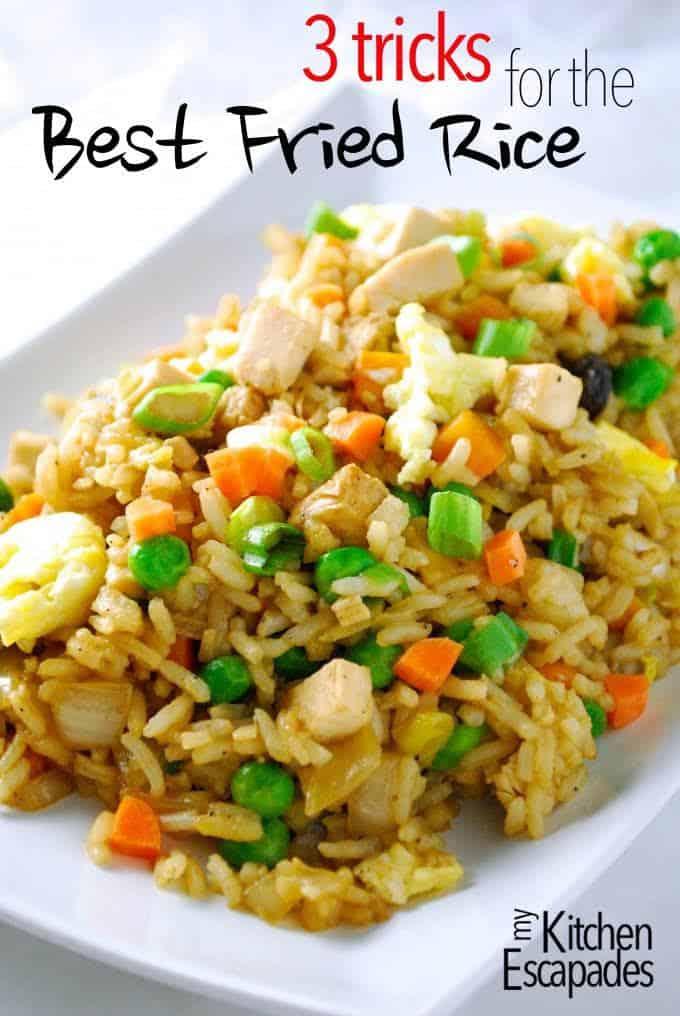 Best Chicken Friend Rice