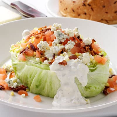 Mortons iceberg wedge salad