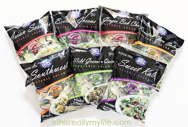 Eat Smart Gourmet Vegetable Salad Kits