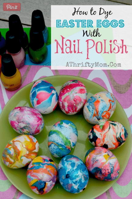20 Different Ways To Dye Easter Eggs Half Scratched