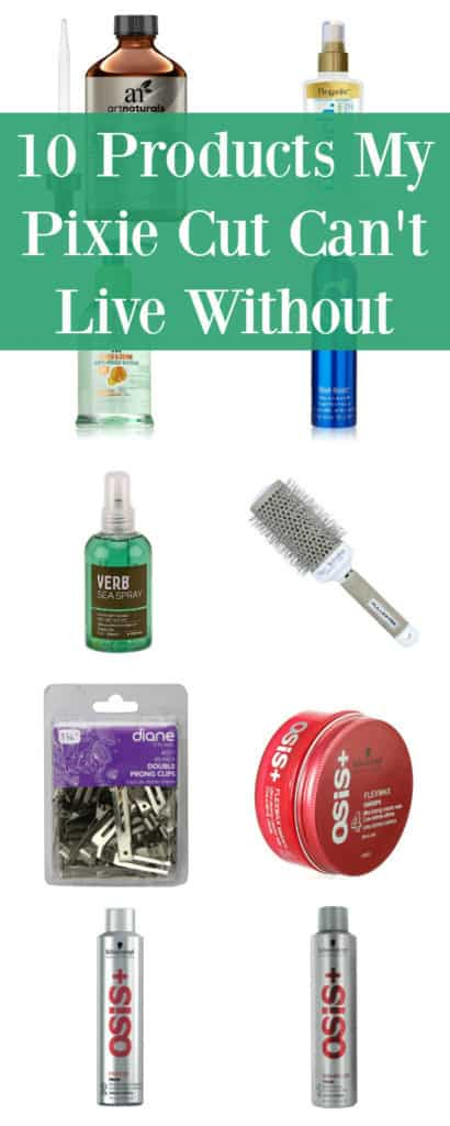 10 Products My Pixie Cut Can't Do Without -- I've had one variation or another of a pixie cut for over 16 years. These are my absolute favorite products--and yes, I use all of them.