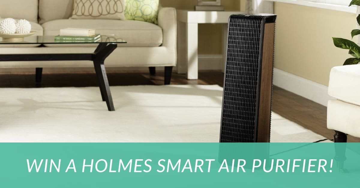 Holmes Smart Air Purifier giveaway