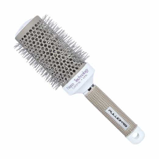Thermal ceramic and ionic round brush