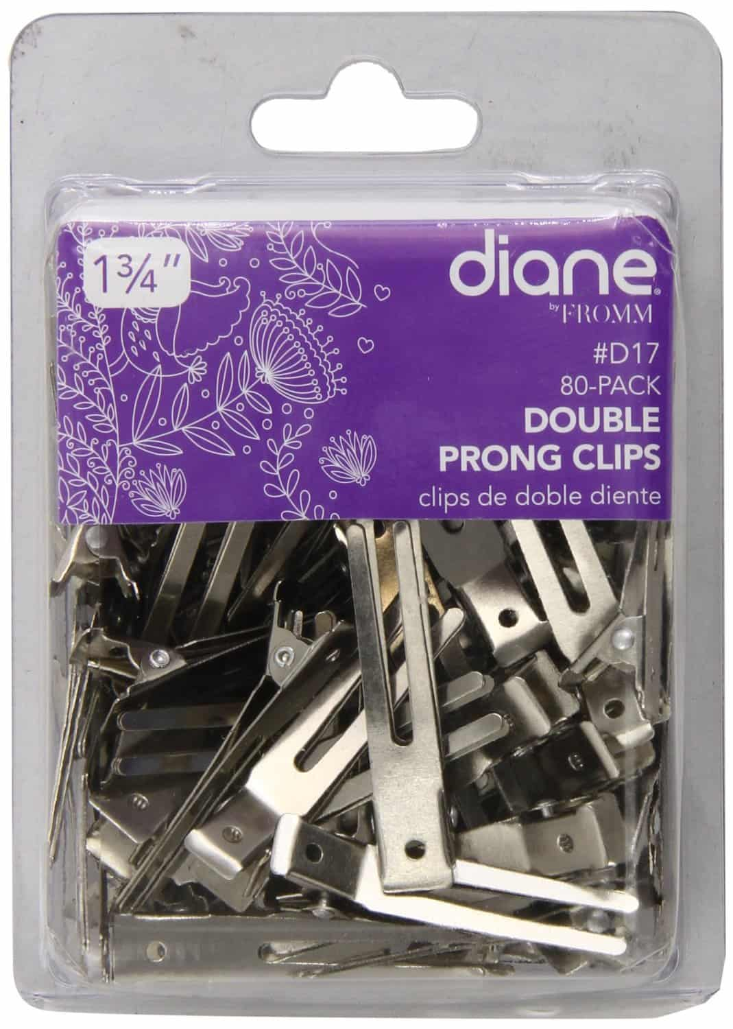 Double prong clips