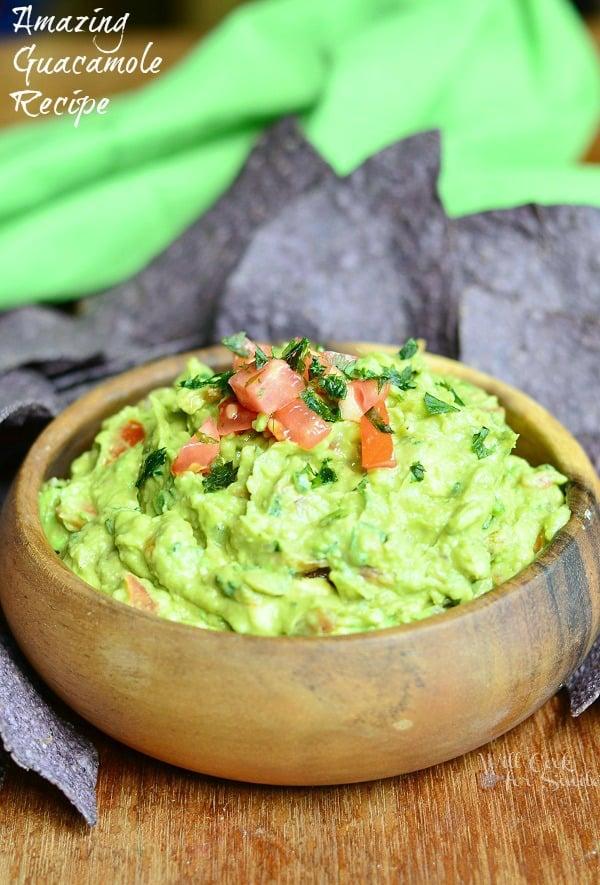 Amazing guacamole recipe