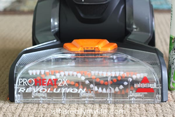 Bissell ProHeat 2x Revolution Review -- if you have a pet OR kids, you will want this upright steam cleaner. For reals.