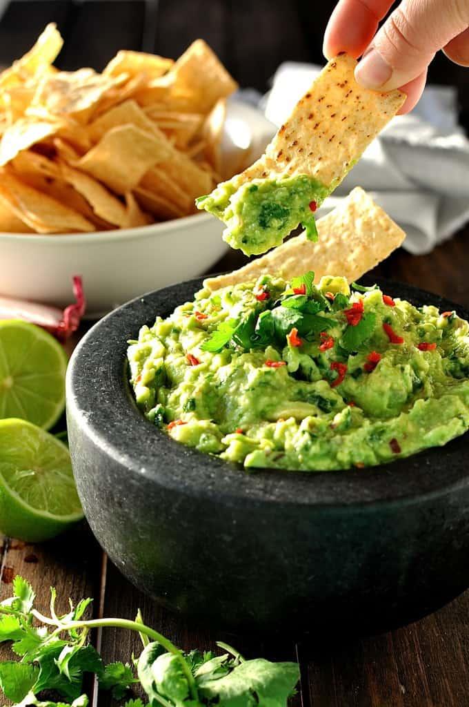 Proper authentic guacamole