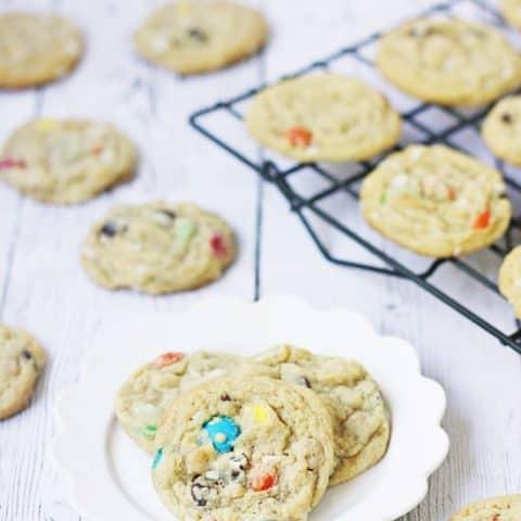 Coconut Monster Cookies
