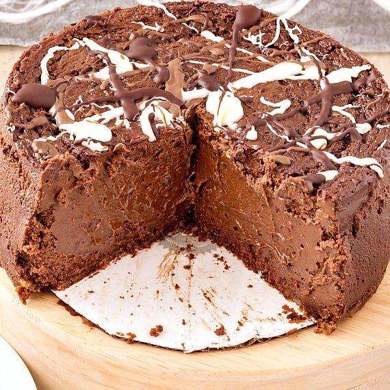 Best double chocolate cheesecake
