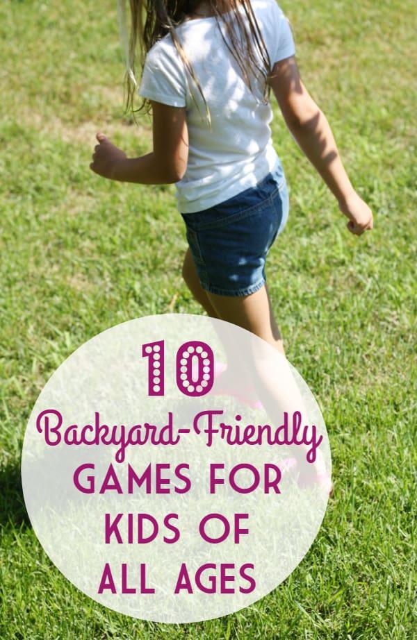 10 Backyard-Friendly Games for Kids