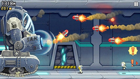 Jetpack Joyride free app for kids