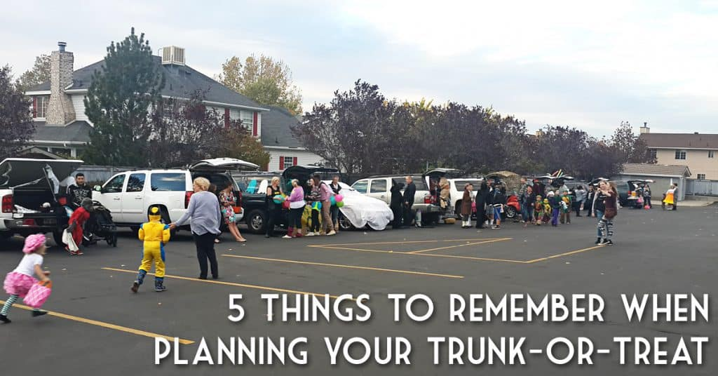 5 Things to Remember When Hosting a Trunk-or-Treat