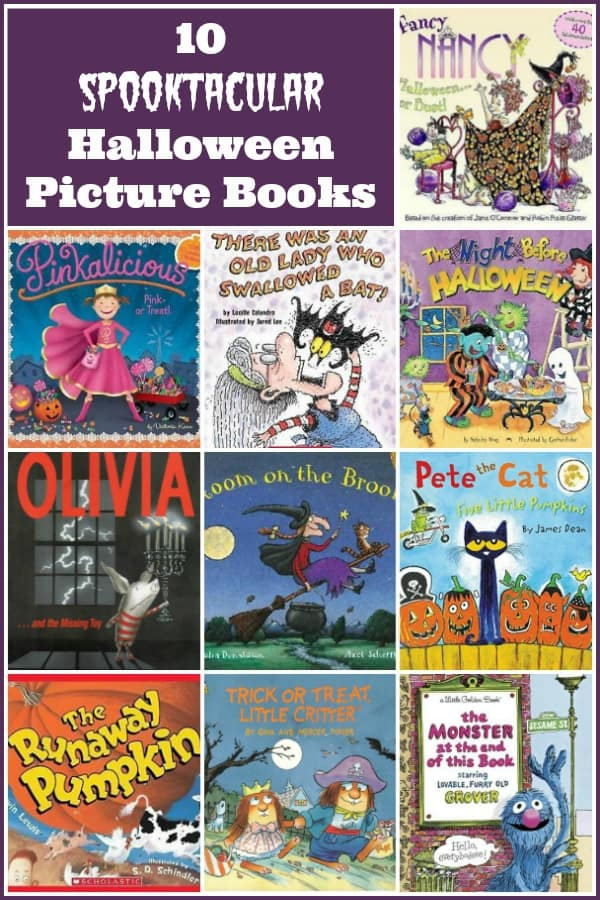 10 Spooktacular Halloween Picture Books for Kids of All Ages