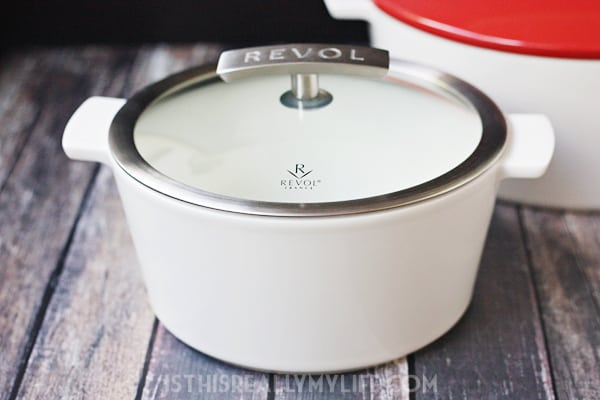 REVOL Revolution French ceramic cookware cocotte
