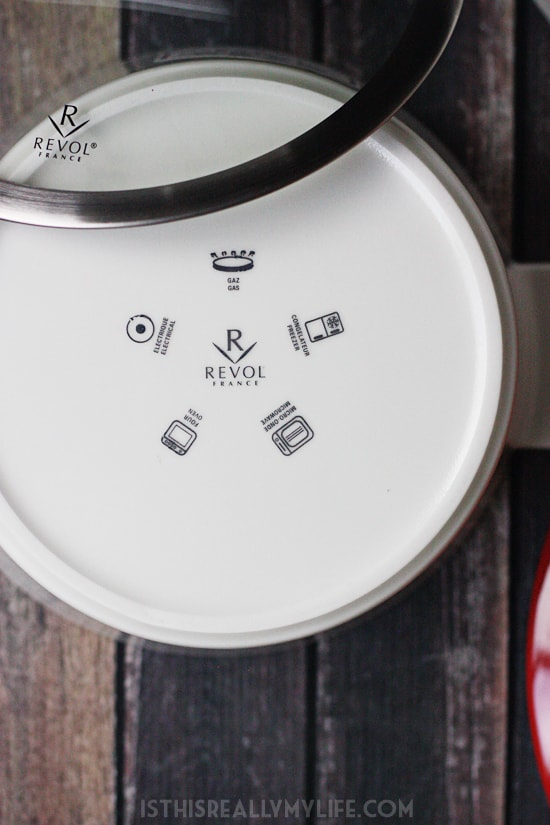 REVOL Revolution French ceramic cookware