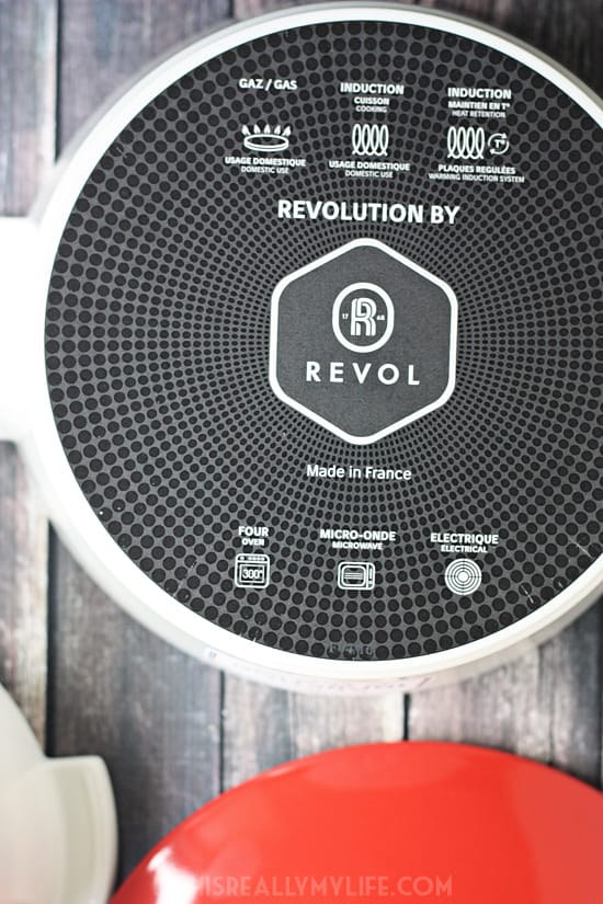 REVOL Revolution 2 French ceramic cookware