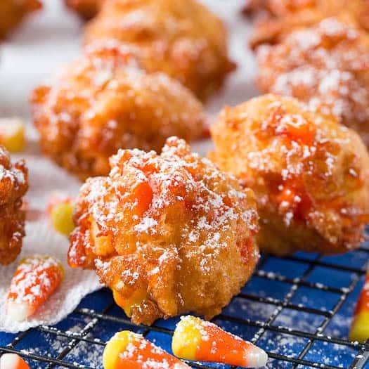 Deep fried candy corn