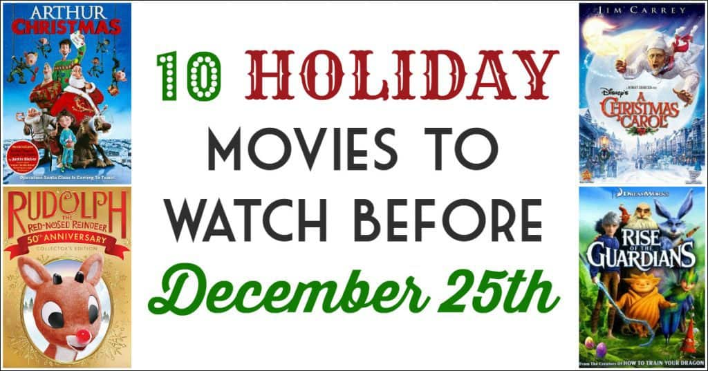 10 Favorite Family-Friendly Holiday Movies