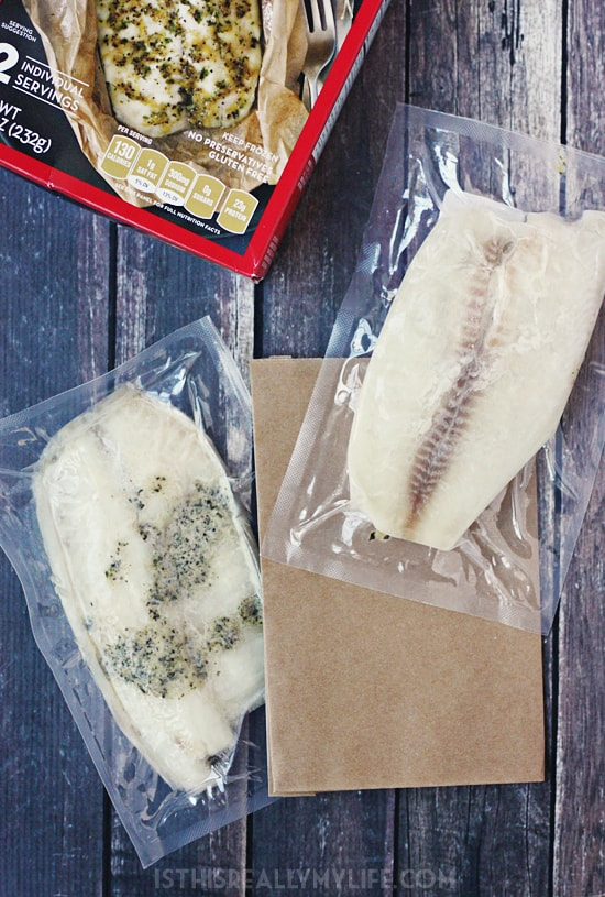 Bumble Bee SuperFresh Tilapia with Lemon Pepper & Herbs