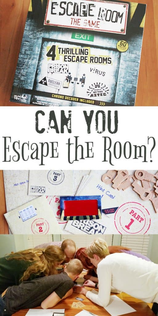 Escape Room The Game -- Bring adventure, excitement and a little mayhem to your grown-up game night with the new Escape Room: The Game. Nothing like a good prison break to bring people together!